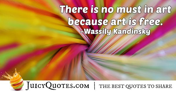 Art Is Free Quote