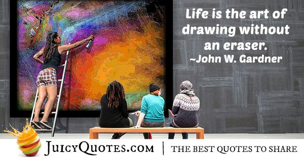 Life and Art Quote