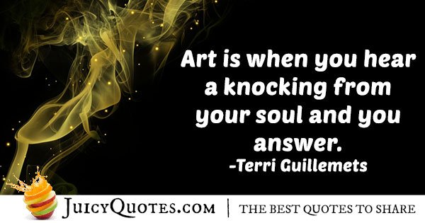 What is Art Quote