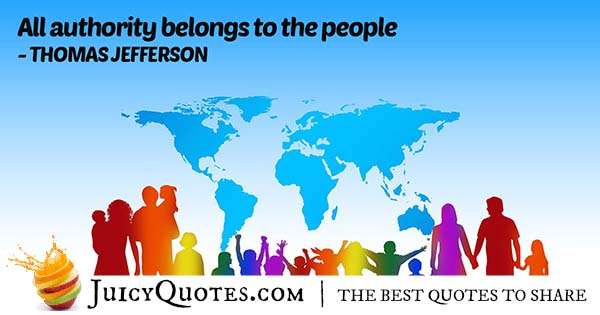 People Authority Quote