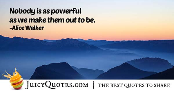 Quote About Being Powerful