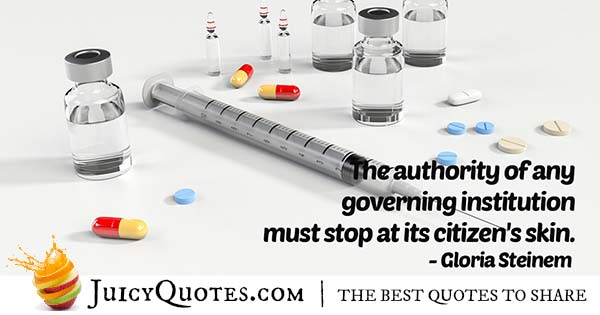Authority of Institutions Quote
