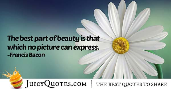 Expression of Beauty Quote