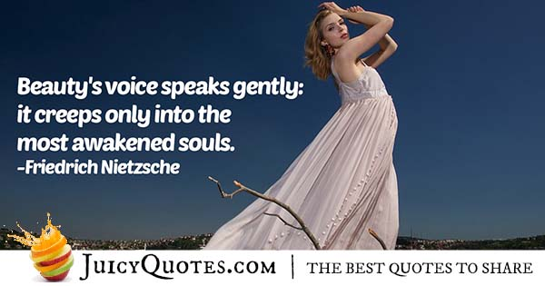 Voice of Beauty Quote