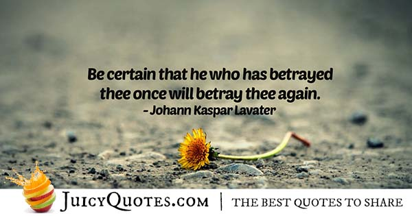 Betrayer Quote