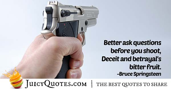 Deceit And Betrayal Quote