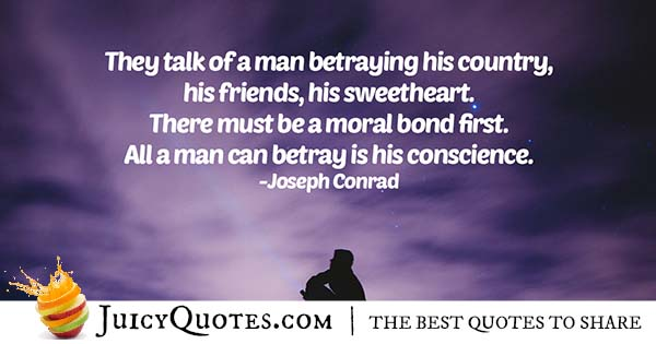 Betraying Your Conscience Quote