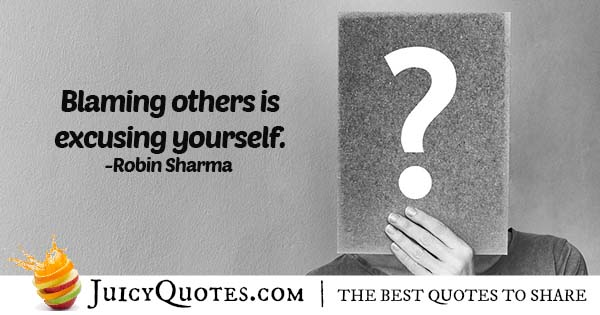 Quote About Blaming Others