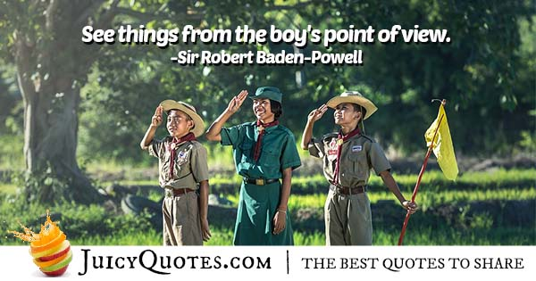 Boy Scout Point of View Quote