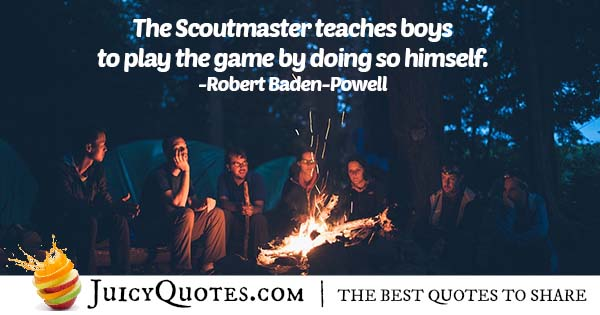 Scoutmaster Quote