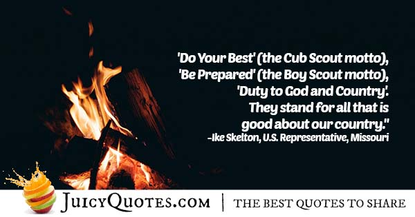 Cub Scout Motto Quote