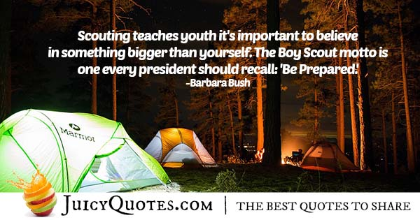 Scouting Teaching Quote