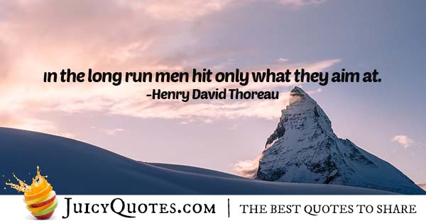 Hitting High Quote