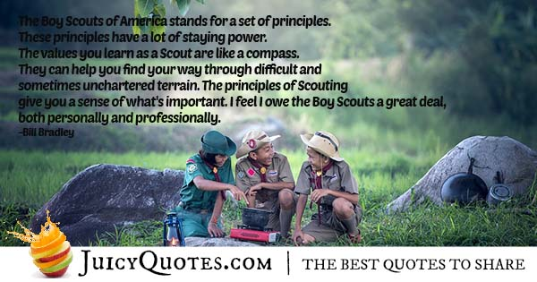 Boy Scouts of America Quote