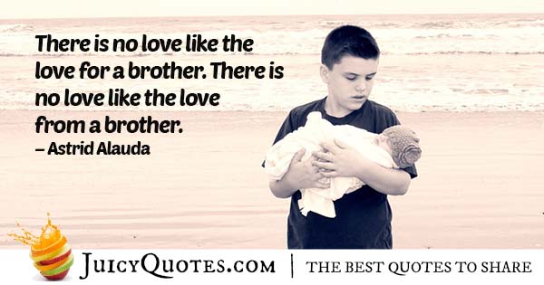 Love For My Brother Quote