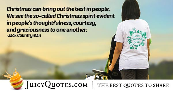 Brotherhood During Christmas Quote