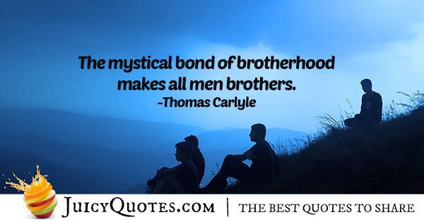 Bond of Brotherhood Quote