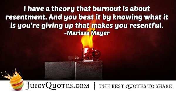 How To Handle Burnout Quote
