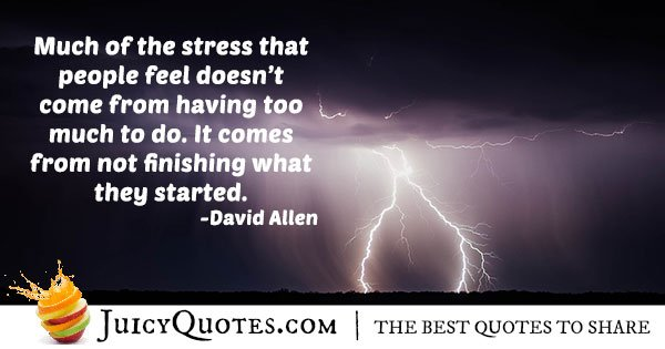 Stress and Burnout Quote