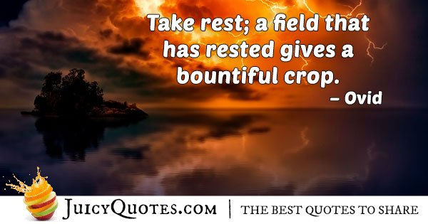 Resting and Burnout Quote