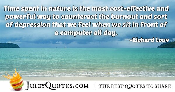 Counteracting Burnout Quote