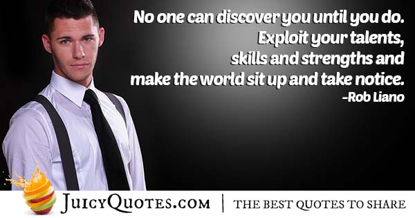 Talents and Career Quote