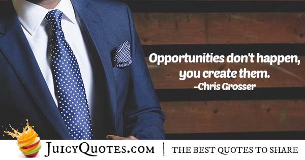 Career Opportunities Quote