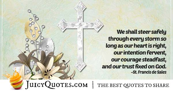 Trust In God Quote
