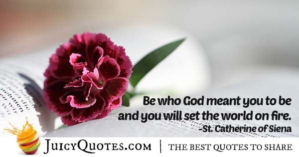 You and God Quote