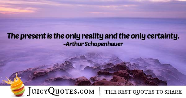 Reality and Certainty Quote