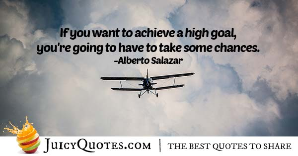 Goals and Chances Quote