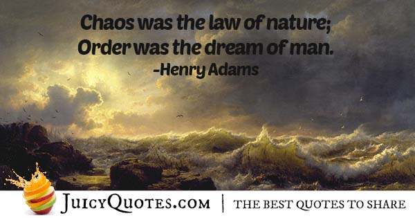 Law of Chaos Quote