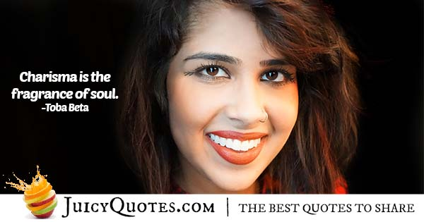 Charisma and the Soul Quote