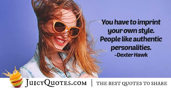 Create Your Own Style Quote
