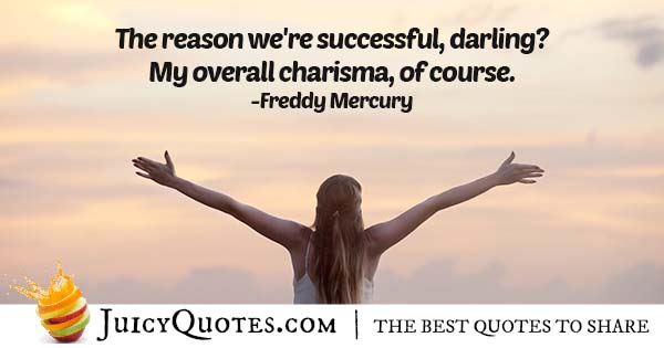 My Charisma Quote