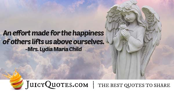 Charity and Happiness Quote