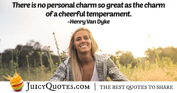 Personal Charm Quote