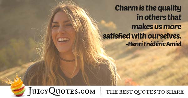 Quality of Charm Quote