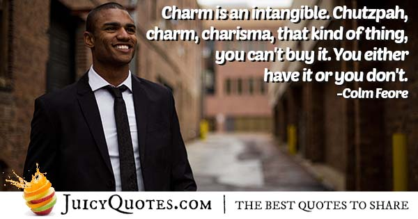 Can't Buy Charm Quote