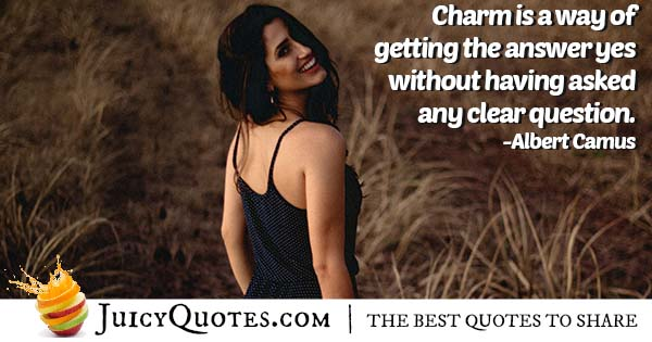 What Is Charm Quote