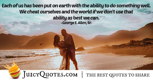 Best of Your Ability Quote