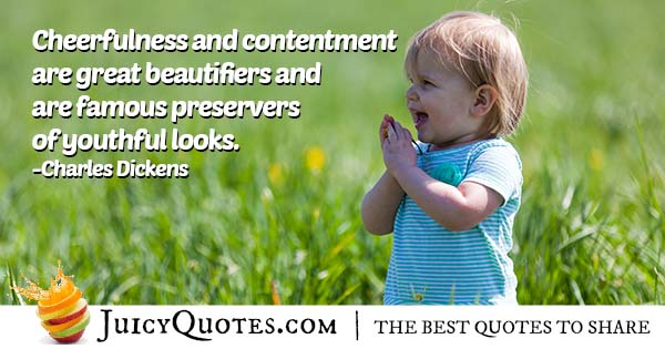 Quote About Cheerfulness