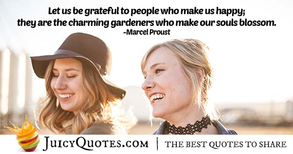 People Who Make Us Happy Quote