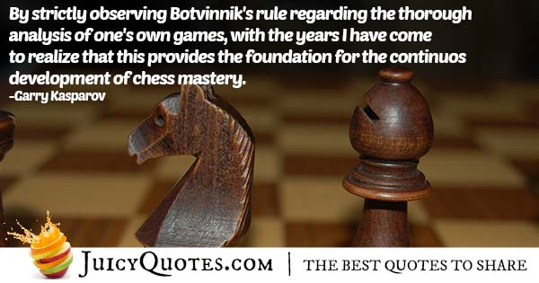 Chess Mastery Quote