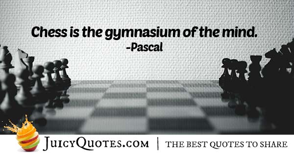 Chess and the Mind Quote