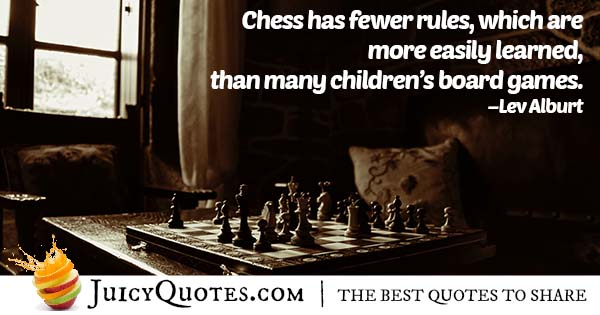 Rules of Chess Quote