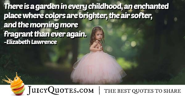 Quote About Childhood