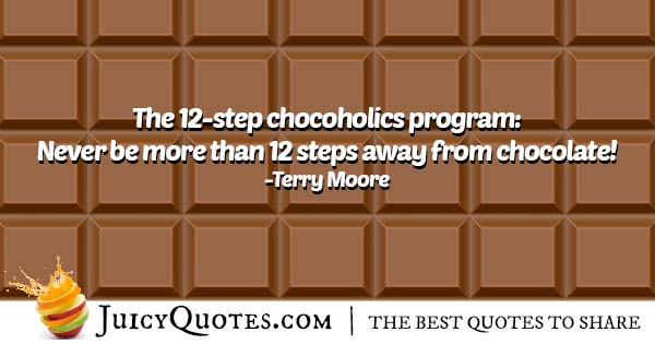 Chocoholics Quote