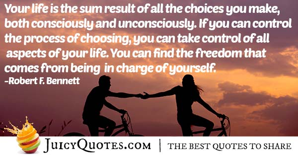 Result of Choices Quote