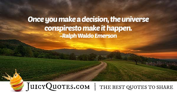 Once You Make A Decision Quote